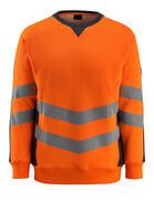 50126-932-14010 Felpa - arancio hi-vis/blu navy scuro