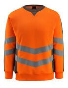 50126-932-1418 Felpa - arancio hi-vis/antracite scuro