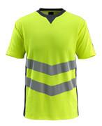 50127-933-17010 Maglietta - giallo hi-vis/blu navy scuro