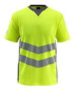 50127-933-1718 Maglietta - giallo hi-vis/antracite scuro