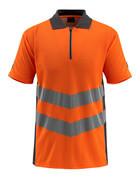 50130-933-1418 Polo - arancio hi-vis/antracite scuro