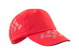 50143-860-222 Cappello - rosso hi-vis