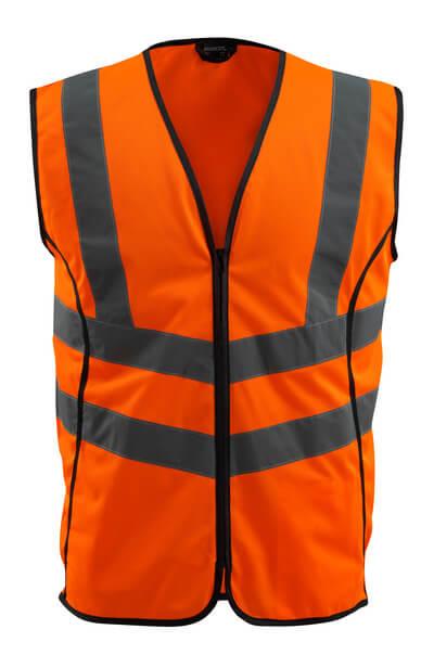50145-977-14 Gilet ad alta visibilità - arancio hi-vis