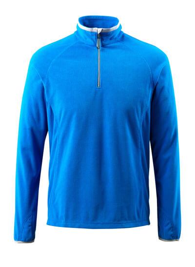 50148-239-010 Maglione in pile con mezza cerniera - blu navy scuro
