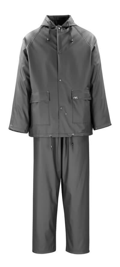50184-873-09 Giacca e Pantaloni antipioggia - nero