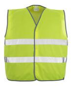 50187-874-17 Gilet ad alta visibilità - giallo hi-vis