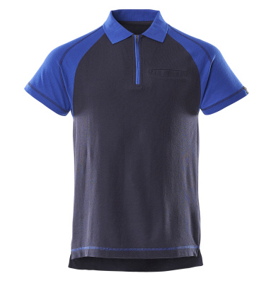 50302-260-111 Polo con tasca sul petto - blu navy/blu royal