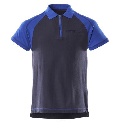 50302-260-111 Polo con tasca sul petto - blu navy/blu royal