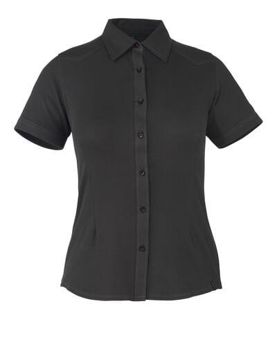 50374-863-09 Camicia, a maniche corte - nero