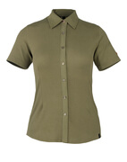 50374-863-119 Camicia, a maniche corte - verde oliva chiaro