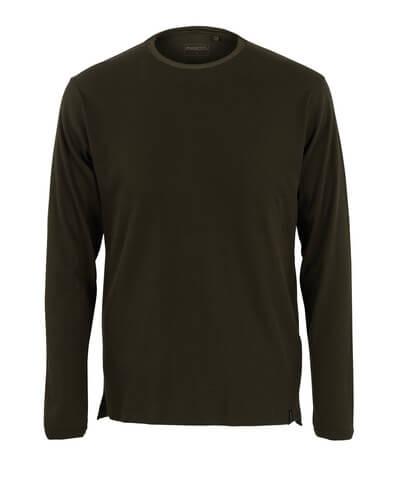 50402-865-19 Maglietta, a maniche lunghe - verde oliva scuro