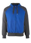 50566-963-11010 Felpa con cappuccio con chiusura lampo - blu royal/blu navy scuro