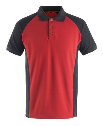 50569-961-0209 Polo - rosso/nero