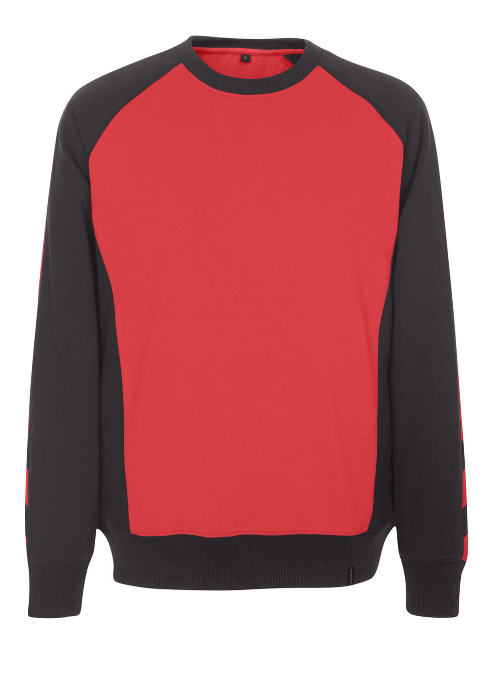 50570-962-0209 Felpa - rosso/nero
