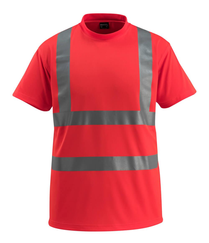 50592-976-222 Maglietta - rosso hi-vis