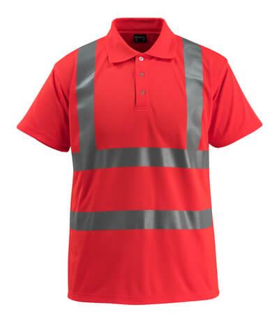 50593-976-222 Polo - rosso hi-vis