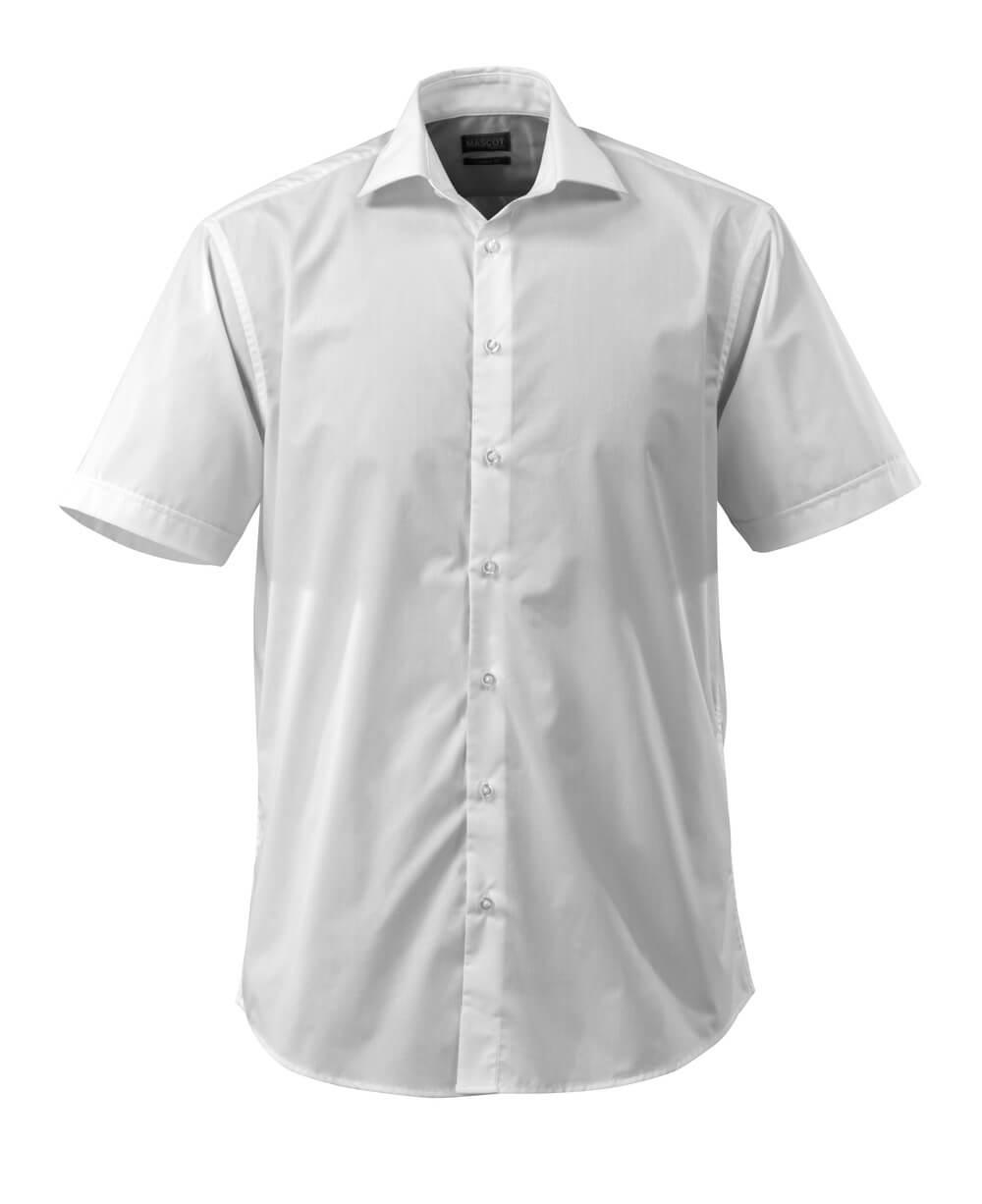50632-984-06 Camicia, a maniche corte - bianco