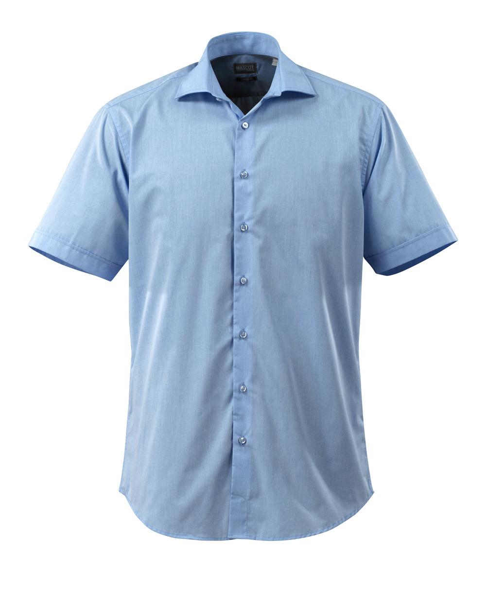 50632-984-71 Camicia, a maniche corte - blu chiaro