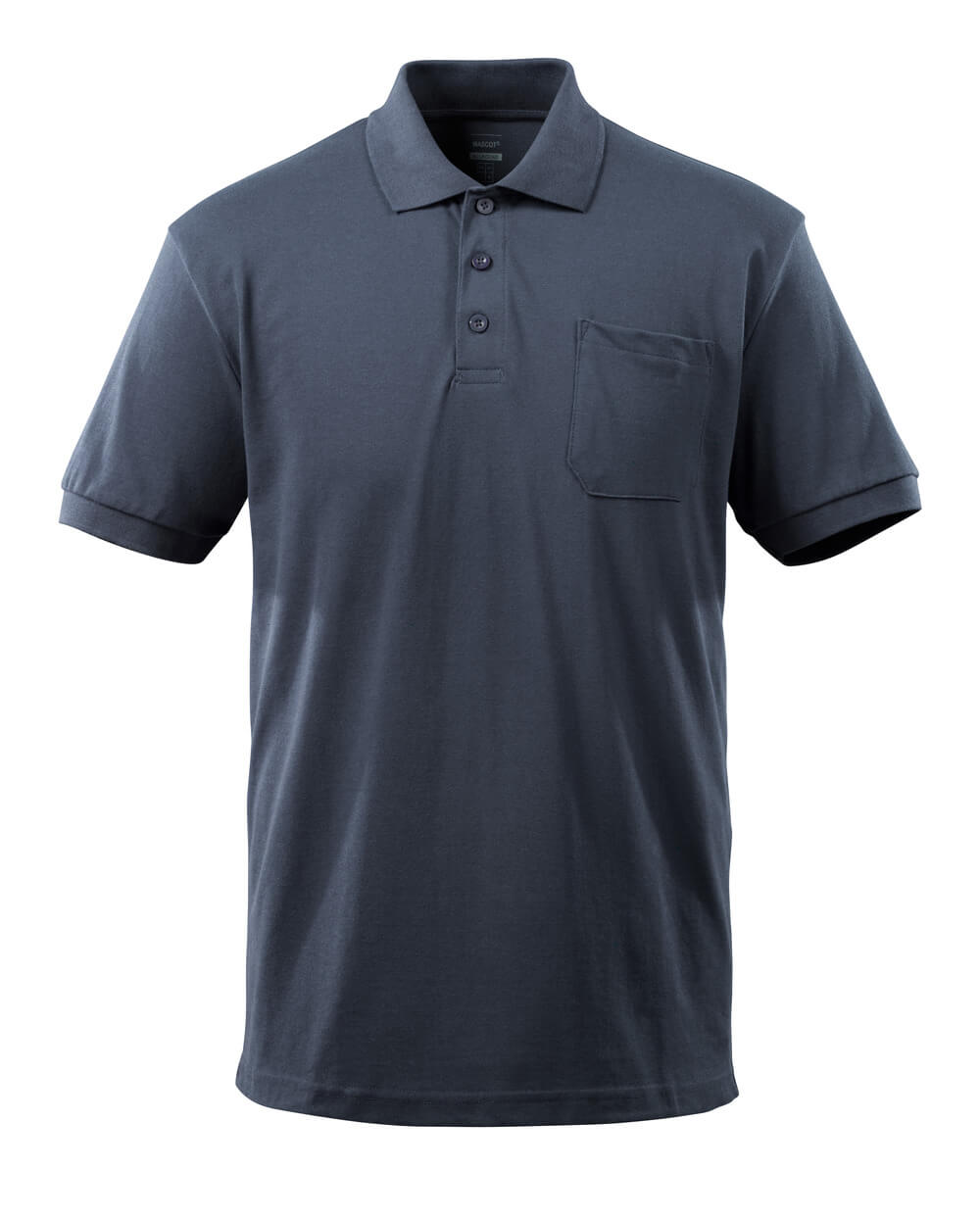 51586-968-010 Polo con tasca sul petto - blu navy scuro
