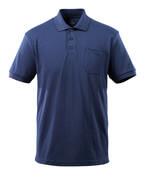 51586-968-01 Polo con tasca sul petto - blu navy
