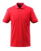 51586-968-202 Polo con tasca sul petto - rosso