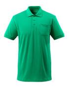 51586-968-333 Polo con tasca sul petto - verde prato