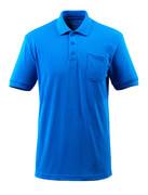 51586-968-91 Polo con tasca sul petto - azzurro