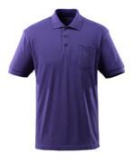 51586-968-95 Polo con tasca sul petto - blu viola