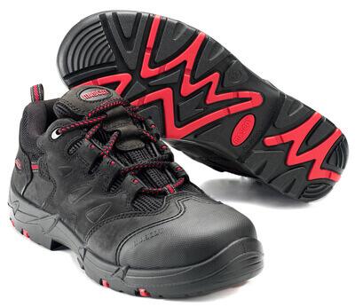 F0014-901-0902 Scarpe antinfortunistiche - nero/rosso