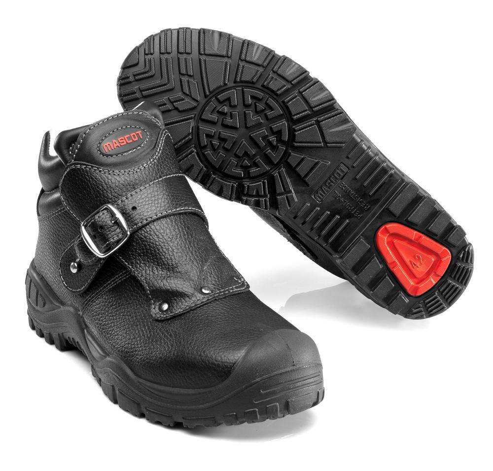F0072-911-09 Stivali antinfortunistiche - nero