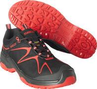 F0121-770-0902 Scarpe antinfortunistiche - nero/rosso