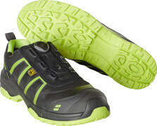 F0125-773-0917 Scarpe antinfortunistiche - nero/verde lime