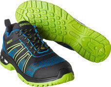 F0130-849-91133 Scarpe antinfortunistiche - nero/blu royal/verde lime