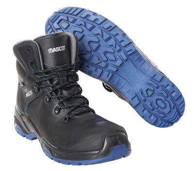 F0141-902-0901 Stivali antinfortunistiche - nero/blu royal