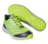 F0301-909-37880 Scarpe antinfortunistiche - verde lime/argento
